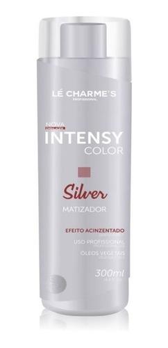 intensy color silver 300ml efeito prata lé charme's