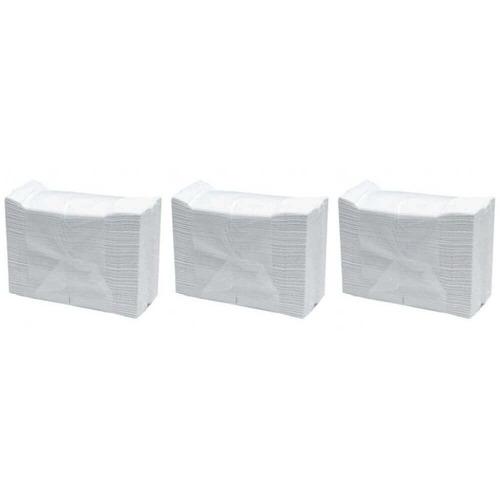 inter folhas toalha branca c/1000 (kit c/03)