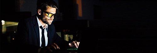 interceptar las gafas de juegos de ordenador - luz azul bloq