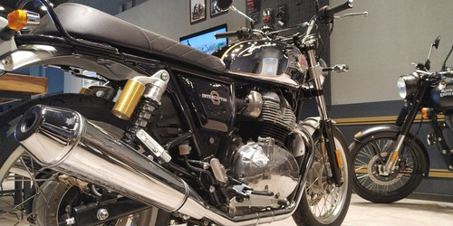 interceptor royal enfield glitter and dust (cromado)