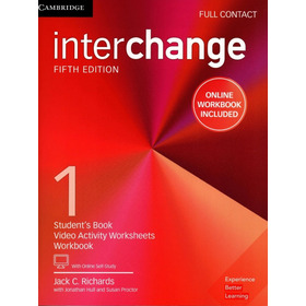 Interchange 1 Full Contact 5th Fifth Edition