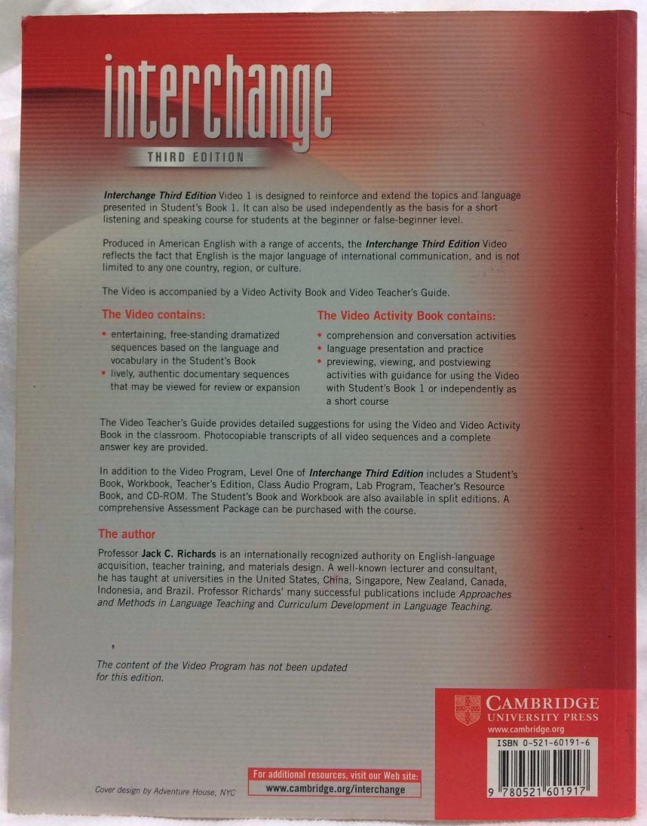 New Interchange 1 Video Activity Book