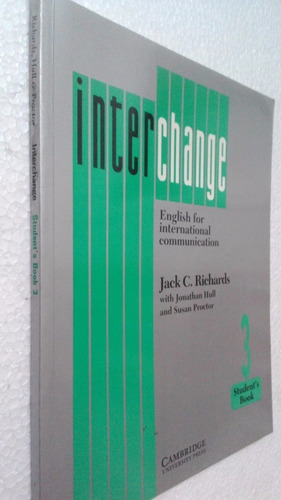 interchange 3. student´s book. richards. cambridge