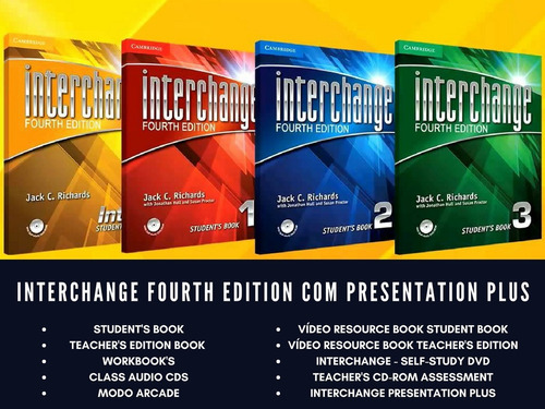 interchange 4th edition completo + presentation plus