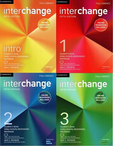 interchange full contact 5th fifth edition libro físico