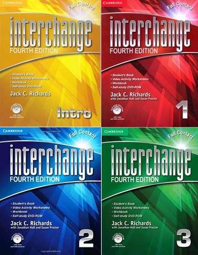interchange full contact fourth edition libro fisico