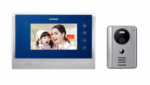 intercom y video portero commax