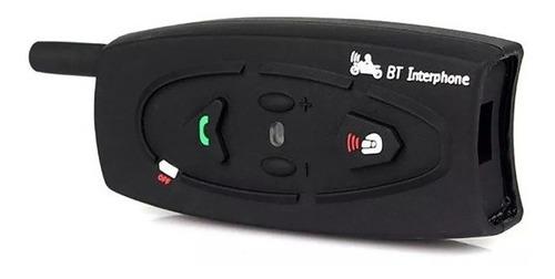 intercomunicador bluetooth casco moto v2-500 ejeas a r
