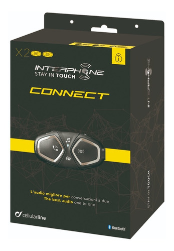 intercomunicador interphone bluetooth capacete connect duplo