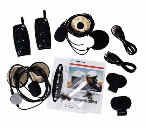 intercomunicador para casco con bluetooth
