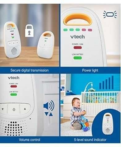 intercomunicador vtech dm111 sonido digital audio vigila bbs