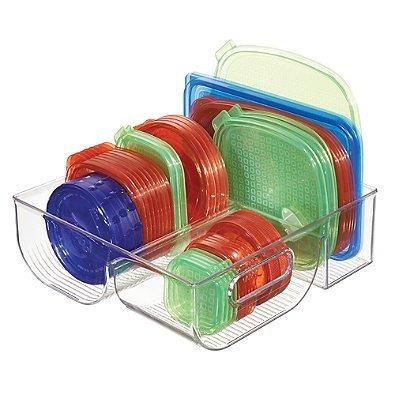 interdesign cabinet binz organizador de tapa de 3 compartimi