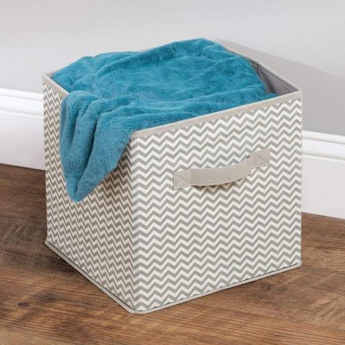 interdesign cheurón tejido closet organizador caja ? papele