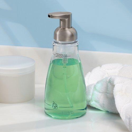 interdesign espuma de jabón dispensador de la bomba, para l