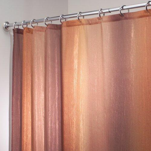 interdesign ombre cortina de baño de diseño   183 x 183 cm