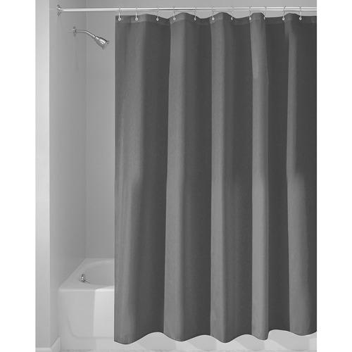 interdesign poly sc/liner cortina de baño de tela | cortina