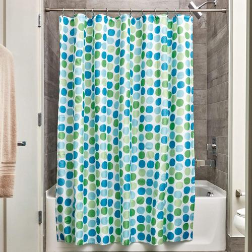 interdesign rialto cortina de baño de tela - cortina para b