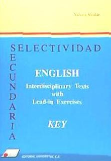 interdisciplinary texts. key(libro )