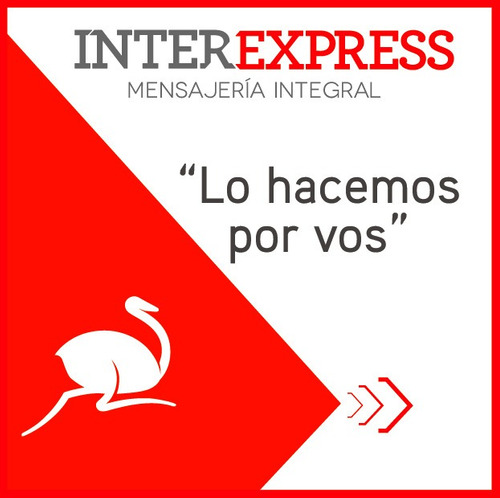 interexpress - mensajería cadeteria moto la plata caba gba