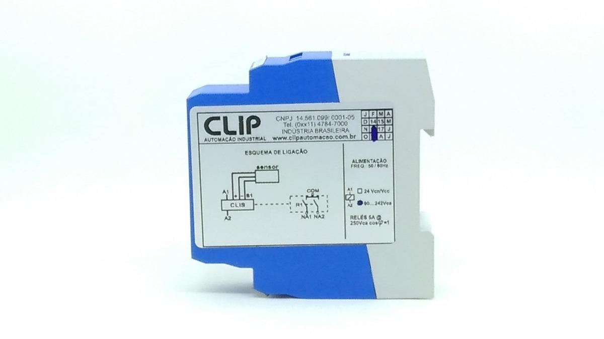 Interface A Relé P/ Sensor Clis-90-242v Pnp/npn Temporizada - R$ 103 ...
