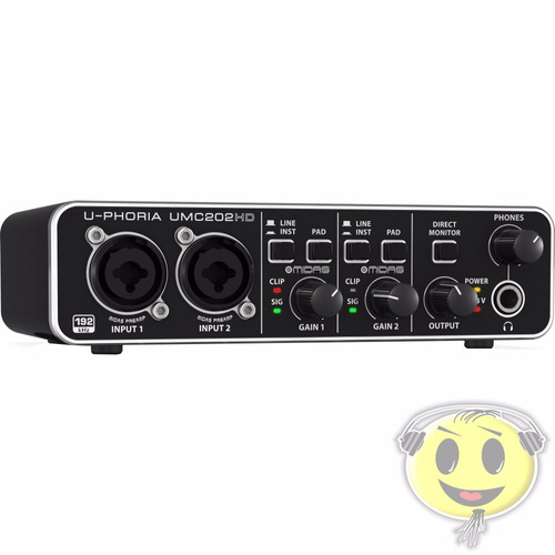 interface audio usb behringer