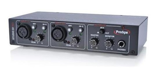 interface audio usb placa de sonido prodipe studio 22 pro