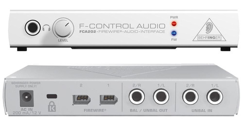 interface behringer fca 202