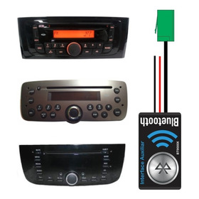 Interface Bluetooth Auxiliar Para Cd Original Fiat + Chaves