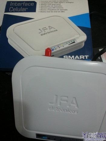 interface celular - smart cell / com protetor de linha.