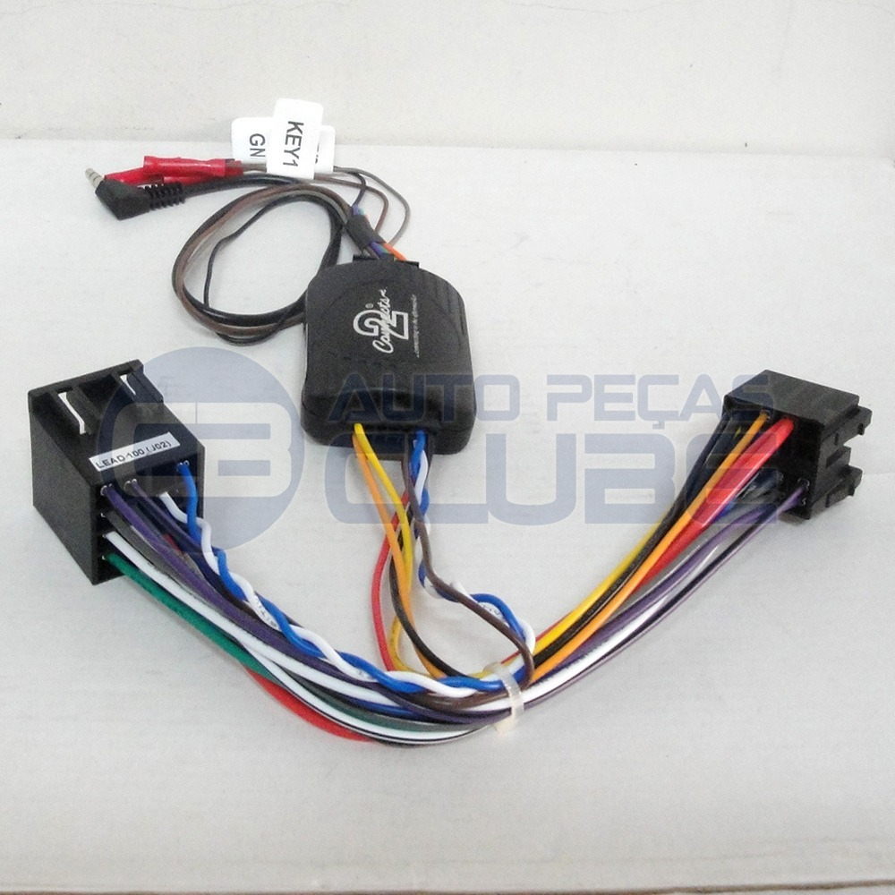 Interface Comando Som Volante Peugeot 206