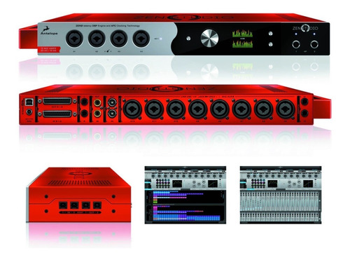 interface, convertidor de sonido antelope zen studio