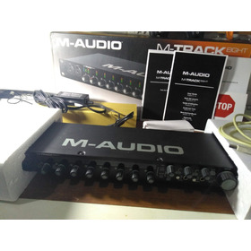 Interface De Audio 8 Canais M-track Eight M-audio