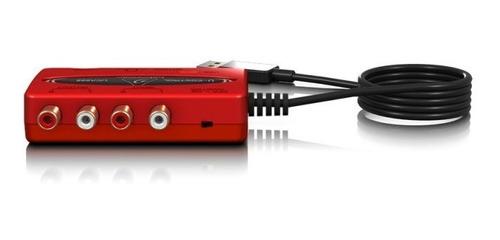 interface de áudio behringer u-control uca222