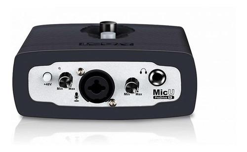 interface de audio icon micupdriv3 2 canais usb/midi