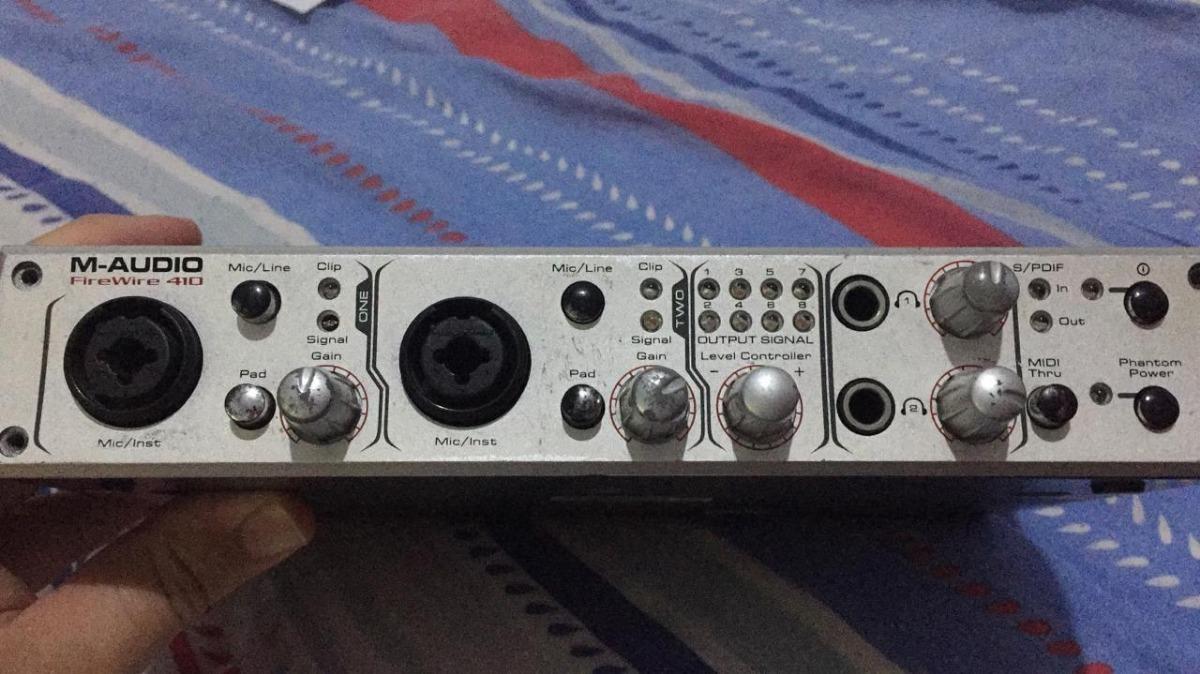 Interface De Audio M-audio Firewire 410 2 Ins 8 Outs
