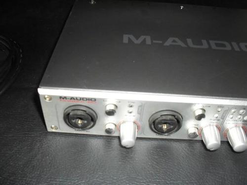 Interface De Audio M-audio Modelo 410 Firewire