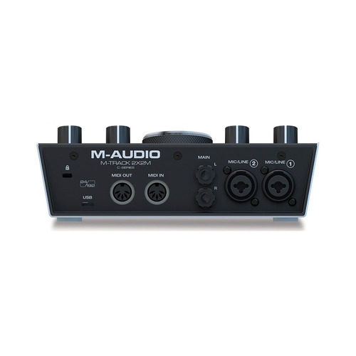 interface de áudio m-audio mtrack2x2m usb midi - ac1662