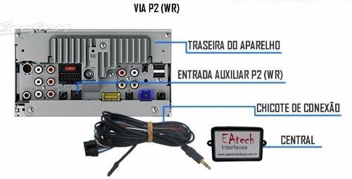 interface de controle de volante cintroen c4 c5 aircross