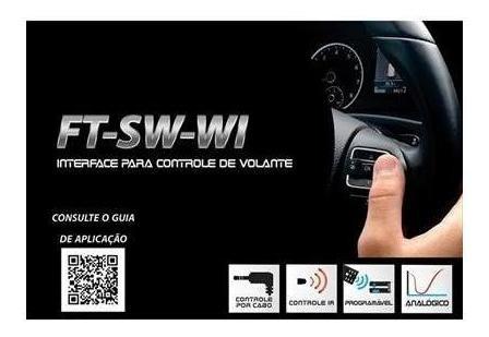 interface de volante ft sw wi toyota hilux faaftech