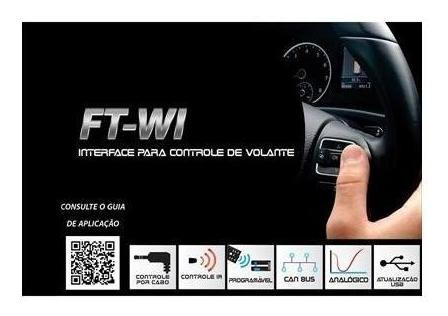interface de volante ft wi vw crossfox 2007 a 2016 faaftech