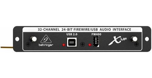 interface fireware behringer x uf p/ mesa de som x32 c/ usb