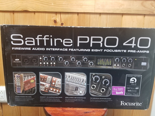 interface focusrite pro 40