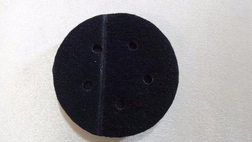 interface hookit de espuma super macia 5 furos 125mm 5'