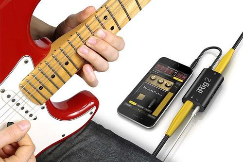 interface ik multimedia irig 2 para iphone ipad,mac e andr