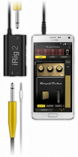 interface irig 2 | ik multimedia | para guitarra
