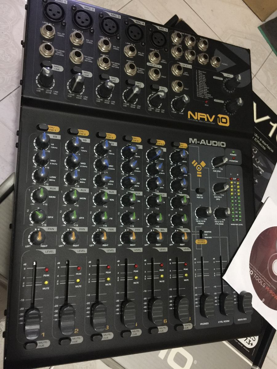 M-AUDIO NRV10 DRIVER WINDOWS 7 (2019)