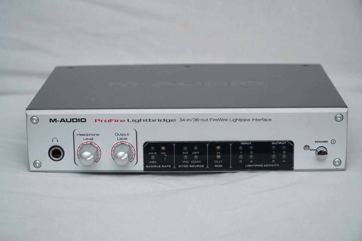 M-AUDIO PROFIRE LIGHTBRIDGE DRIVERS UPDATE