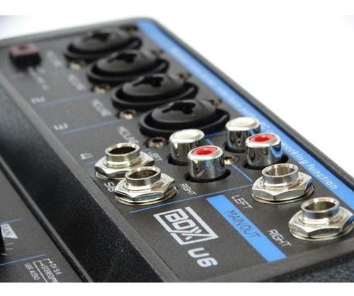 interface mesa boxx mixer u6 usb