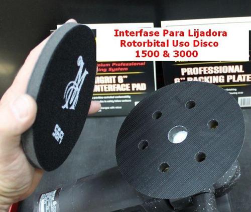 interface pad interfase rotorbital.x discos pulido a a