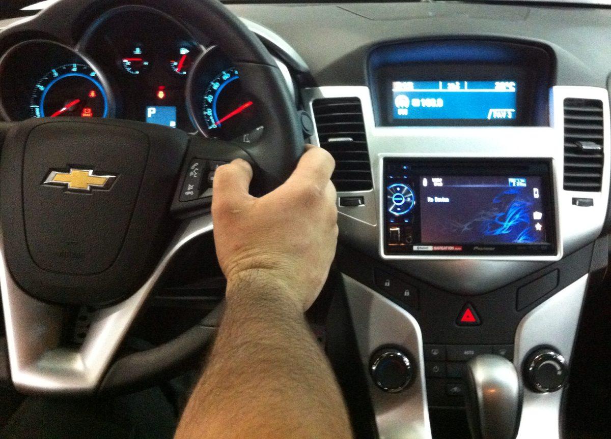 Interface Para Controle De Som No Volante Chevrolet Cruze